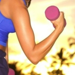 Are muscular arms the key to looking healthy and fit?