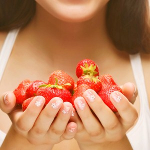 Can strawberries help protect against UVA radiation?