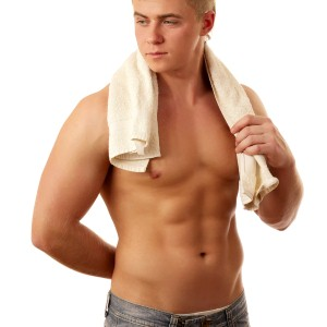 Can your guy keep his trim physique through the fall?