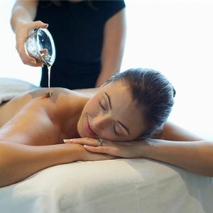 Enhance a body skincare massage with high-quality oil
