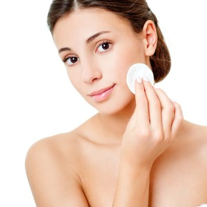 Keeping oily skin under control