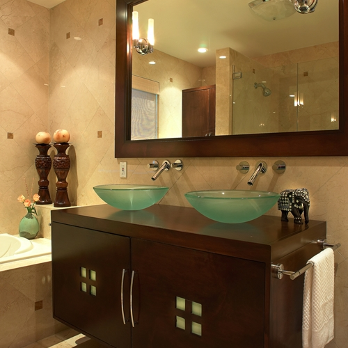 How To Organize Your Bathroom Vanity: Turn Your Bathroom Into A Temporary Spa