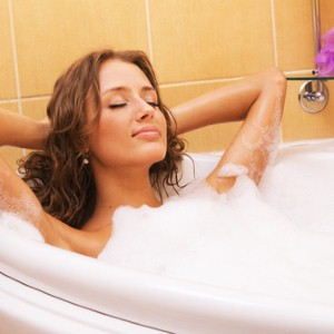 Scrub away skin irritants with sea salt