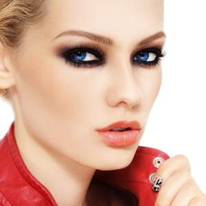 The smoky eye goes punk for spring