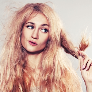 Understand dryness: Fix damaged hair for more shine