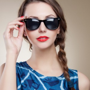 What's lurking underneath your sunglasses?